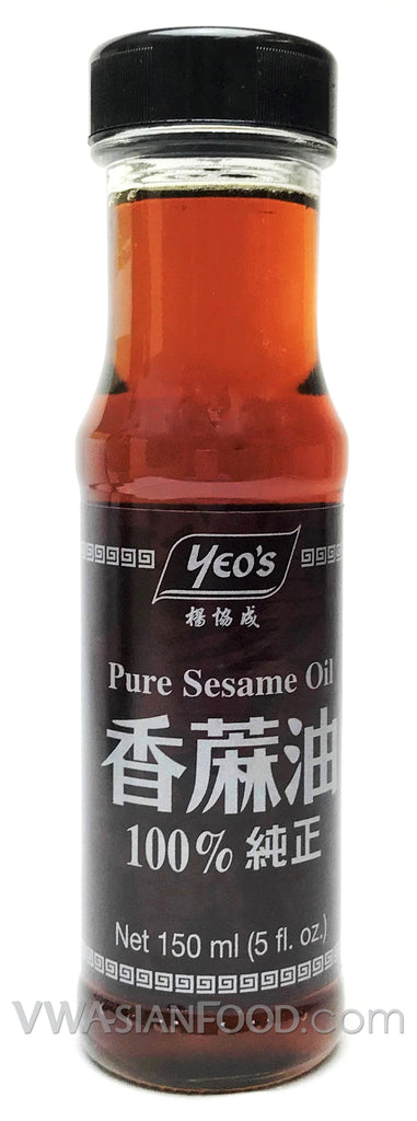 Yeo's Pure Sesame Oil Small, 5 oz (24-Count)