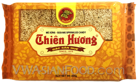 Thien Huong Sesame Sprinkled Candy, 7.9 oz (50-Count)