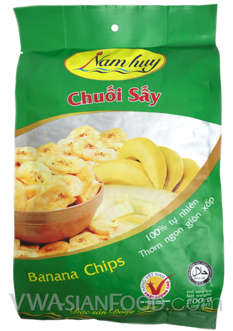 Nam Huy Banana Chips, 8.75 oz (25-Count)