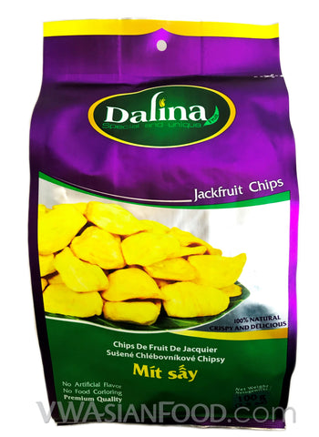 Dalina Jackfruit Chips, 3.5 oz (40-Count)