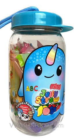 ABC Mini Jelly Straw, 28.22 oz (8-Count)