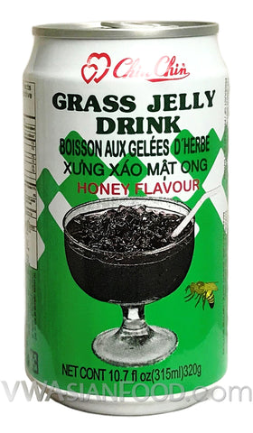Chin Chin Grass Jelly Drink (Honey), 11 oz (24-Count)