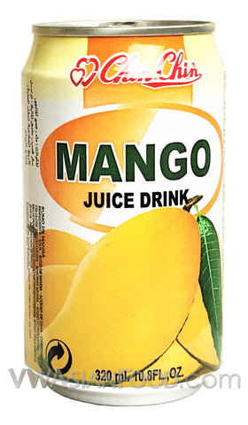 Chin Chin Mango Juice Drink, 11 oz (24-Count)