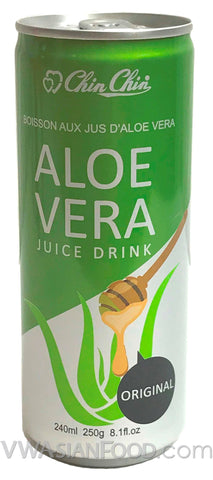 Chin Chin Aloe Vera Juice Drink Original, 8 oz (24-Count)