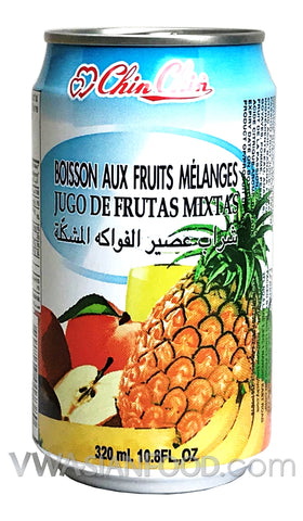 Chin Chin Mixed Fruit Juice Drink, 11 oz (24-Count)