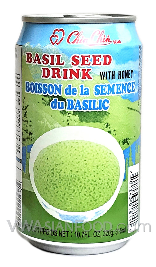 Chin Chin Basil Seed Drink, 11.2 oz (24-Count)