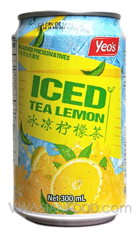 Yeo's Iced Tea Lemon, 10.1 oz (24-Count)