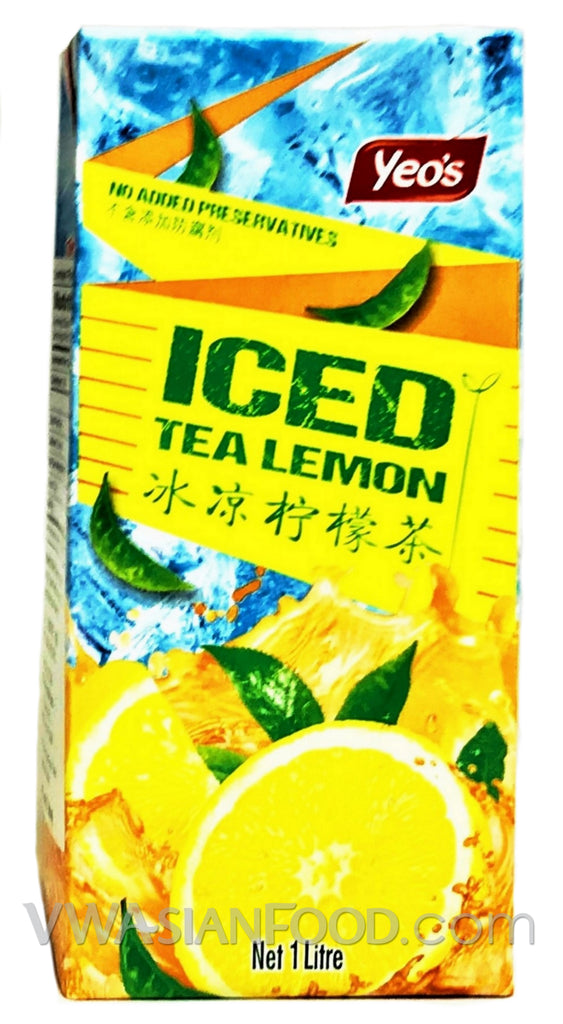 Yeo's Iced Tea Lemon (Tall Box) 1L (12-Count)