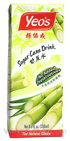 Yeo's Sugar Cane Drink (Box 6-Pack) 8.5 oz (4-Count)