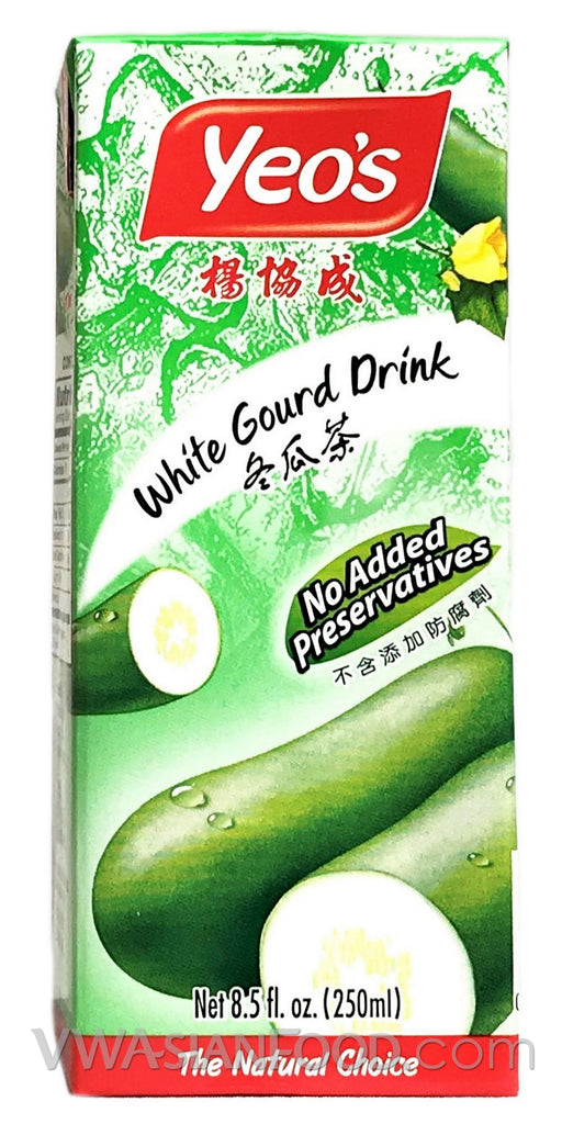 Yeo's White Gourd Drink (Box 6-Pack) 8.5 oz (4-Count)