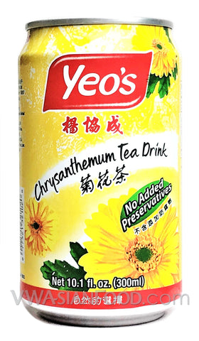 Yeo's Chrysanthemum Tea Drink, 10.1 oz (24-Count)