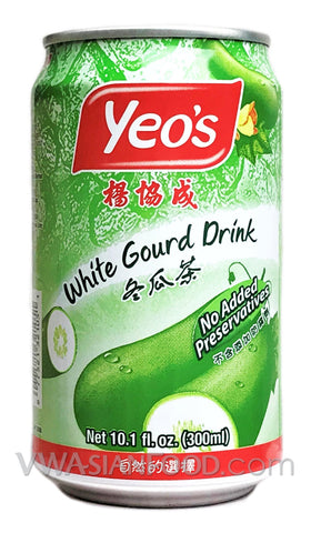 Yeo's White Gourd Drink (Nuoc Bi Dao), 10.1 oz (24-Count)