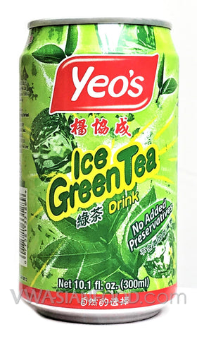 Yeo's Ice Green Tea, 10.1 oz (24-Count)