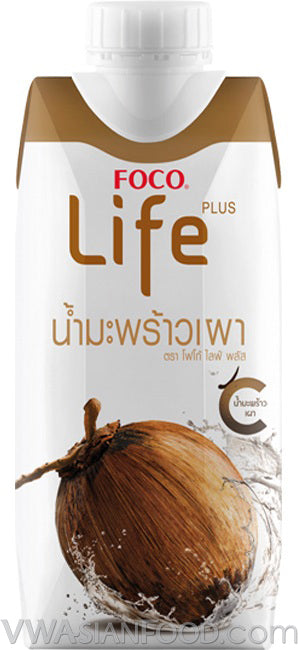 FOCO Life Coconut Water Roasted, 11.2 oz (12-Count)