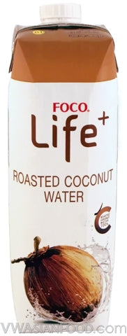 FOCO Life Coconut Water Roasted, 33.8 oz (12-Count)