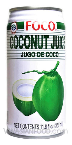 FOCO Coconut Juice, 11.8 oz (24-Count)