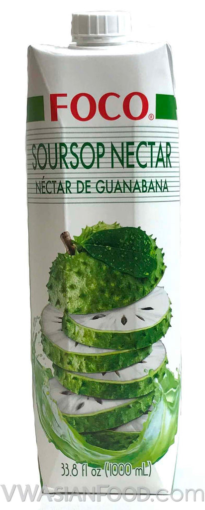 FOCO Soursop Nectar, 33.8 oz (12-Count)