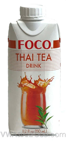 FOCO Thai Tea Drink, 11.2 oz (12-Count)