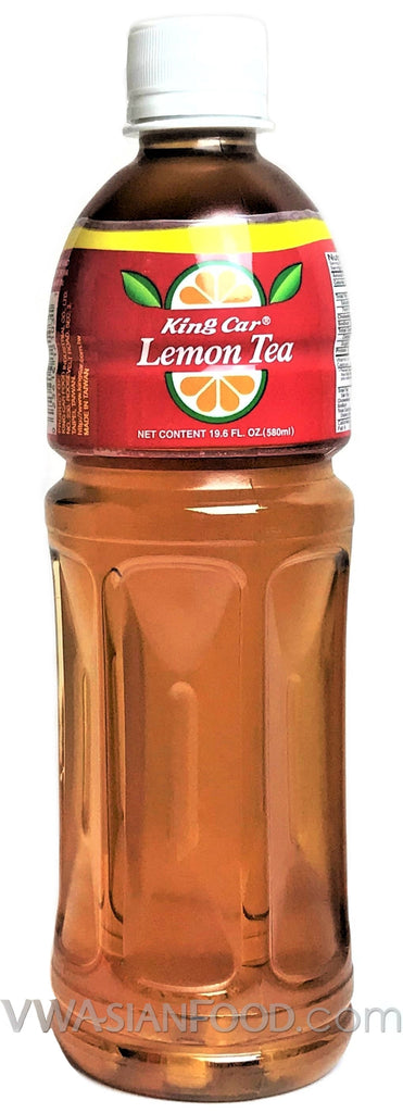 King Car Lemon Tea, 19.6 oz (24-Count)