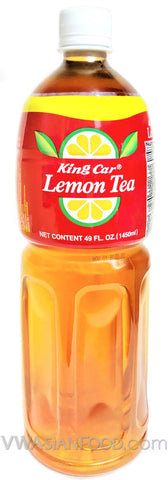 King Car Lemon Tea, 49 oz (12-Count)