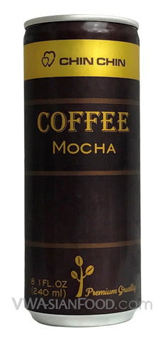 Chin Chin Coffee Mocha 8.1oz (24-Count)