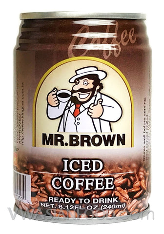 Mr. Brown Iced Coffee, 8.12 oz (24-Count)