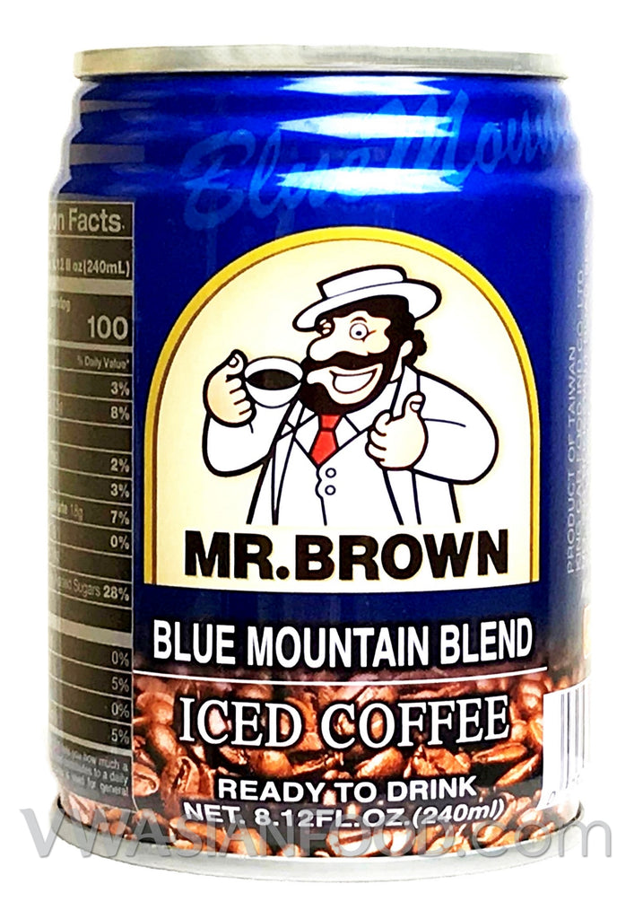 Mr. Brown Blue Mountain Iced Coffee, 8.12 oz (24-Count)