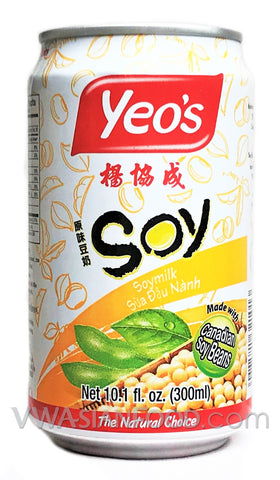 Yeo's Soymilk Drink, 10.1 oz (24-Count)