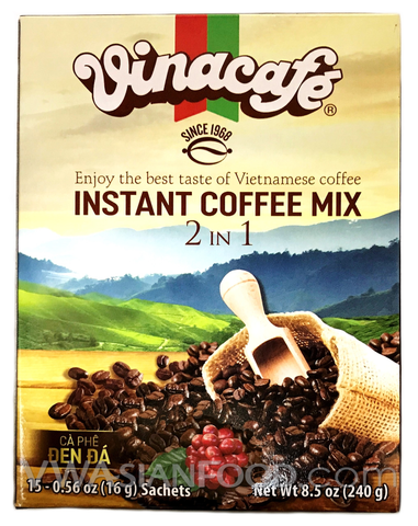 Vinacafe Instant Coffee 2-in-1, 8.5 oz (20-Count)