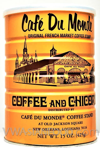 Cafe Du Monde Coffee & Chicory, 15 oz (24-Count)
