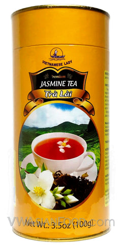 Vietnamese Lady Jasmine Tea, 3.5 oz (50-Count)