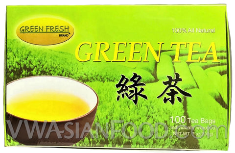 Green Fresh Green Tea 13.28 oz, 100-Bags (24-Packs)