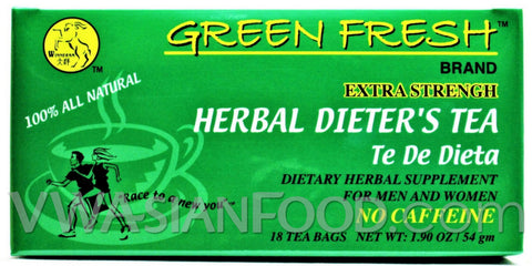 Green Fresh Herbal Dieter's Tea 1.9 oz, 18-Bags (36-Packs)