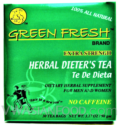 Green Fresh Herbal Dieter's Tea 3.17 oz, 30-Bags (24-Packs)
