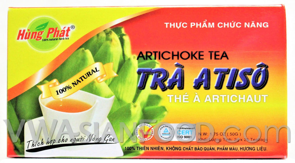 Hung Phat Artichoke Tea 1.75 oz, 10-Boxes (10-Packs)