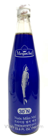 Megachef Fish Sauce, 23.6 oz Bottle (12-Count)