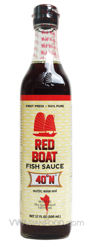 Red Boat Fish Sauce, 17 oz Bottle (12-Count)