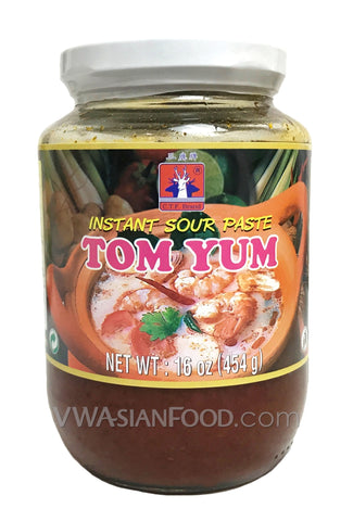 C.F.T Deer Tom Yum Paste, 16 oz (24-Count)