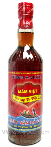 Mam Viet Huong Vi Viet Fish Sauce, 23 oz Bottle (12-Count)