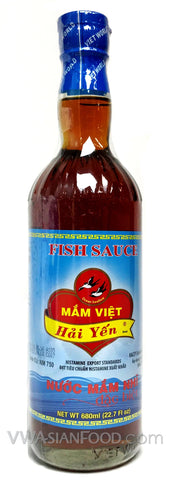 Mam Viet Hai Yen Fish Sauce, 23 oz Bottle (12-Count)