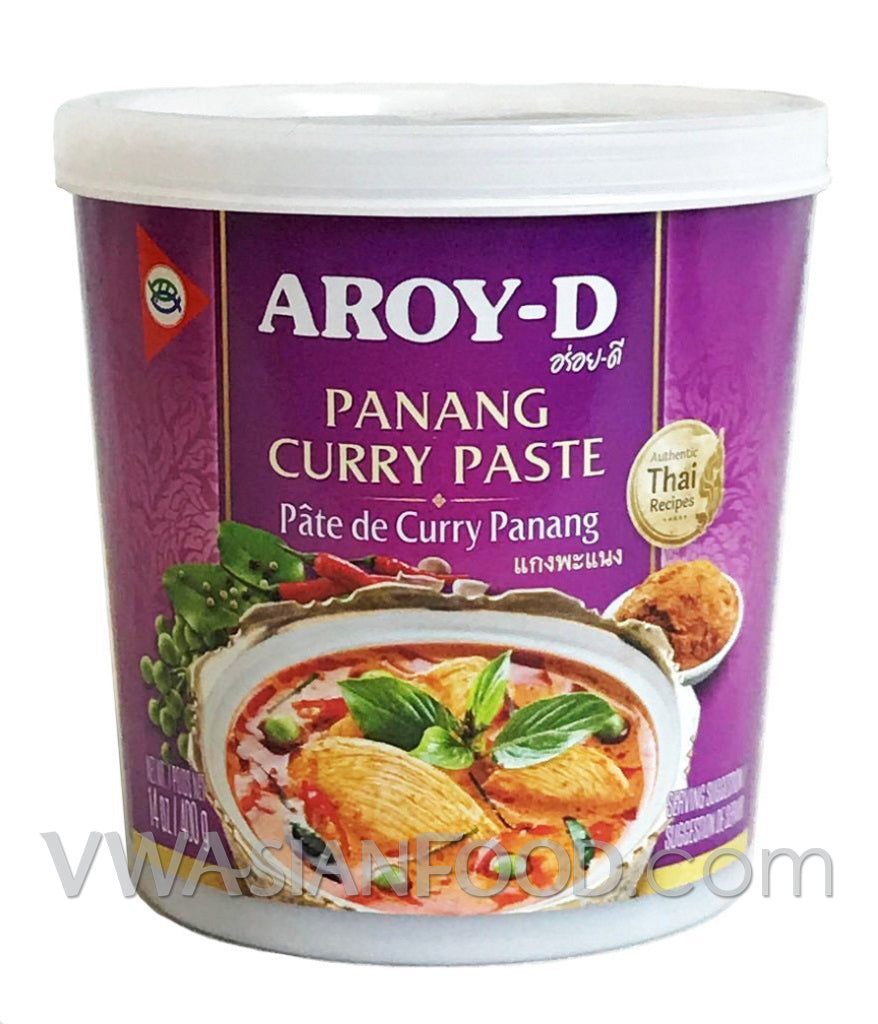 Aroy-D Panang Curry Paste, 14 oz (24-Count)