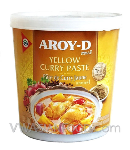 Aroy-D Yellow Curry Paste, 14 oz (24-Count)
