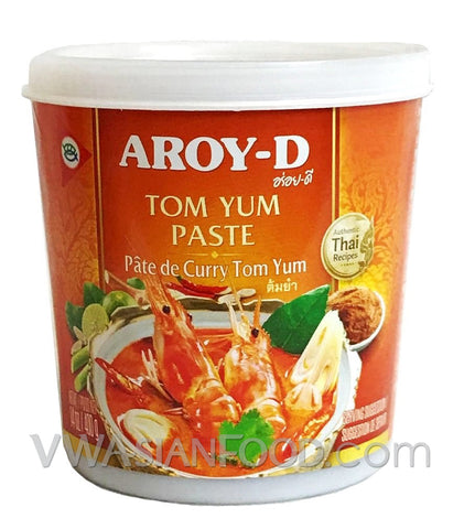 Aroy-D Tom Yum Paste, 14 oz (24-Count)