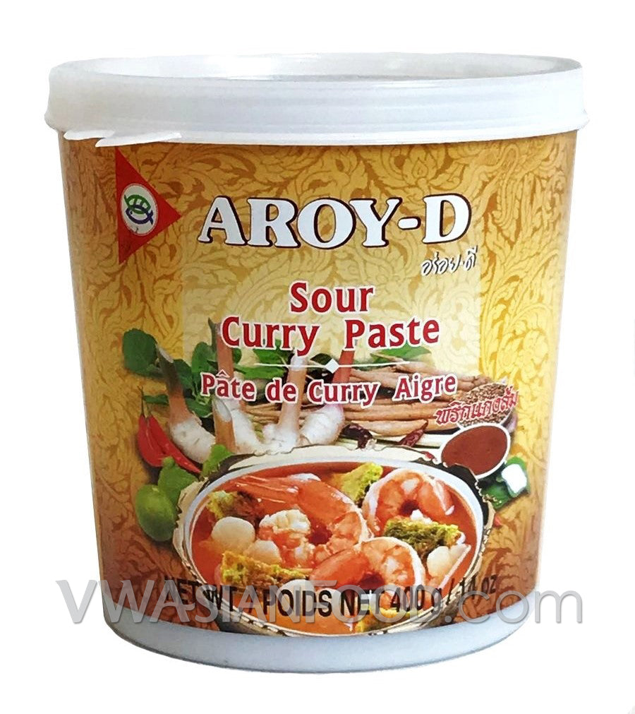 Aroy-D Sour Curry Paste, 14 oz (24-Count)
