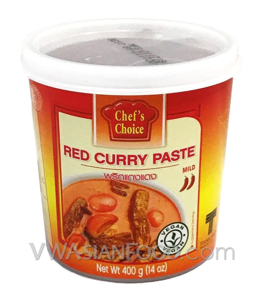 Chef's Choice Red Curry Paste, 14 oz (24-Count)