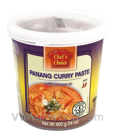 Chef's Choice Panang Curry Paste, 14 oz (24-Count)