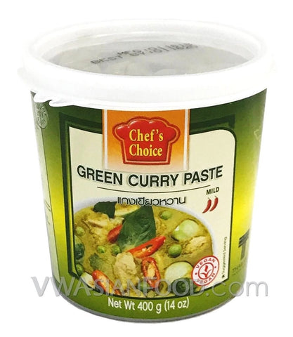 Chef's Choice Green Curry Paste, 14 oz (24-Count)