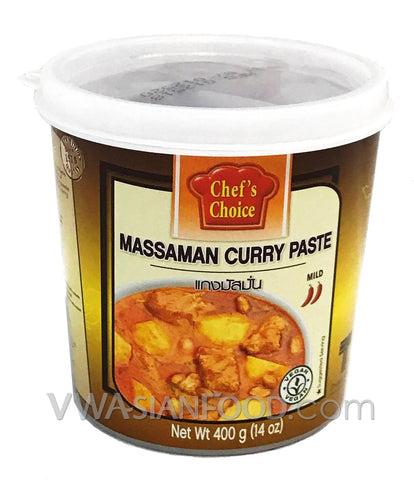 Chef's Choice Massaman Curry Paste, 14 oz (24-Count)