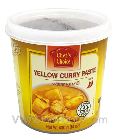 Chef's Choice Yellow Curry Paste, 14 oz (24-Count)