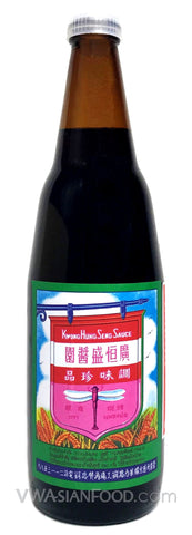 K.H.S Black Soy Sauce, 19 oz (12-Count)
